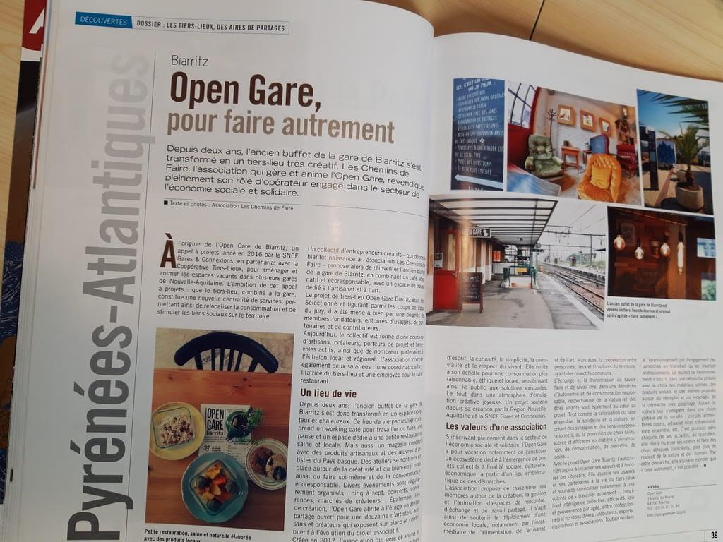 Reportage du magazine Arcades