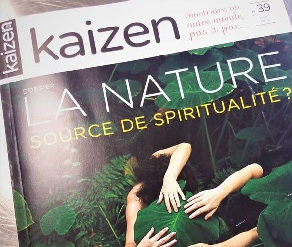 Couverture du magazine Kaizen